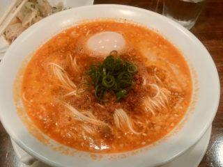 鳴龍担々麺